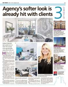 Our editorial featuring Holland Properties New look office and re-branding