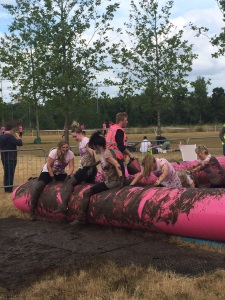 Holland Properties - race for life - Pretty muddy